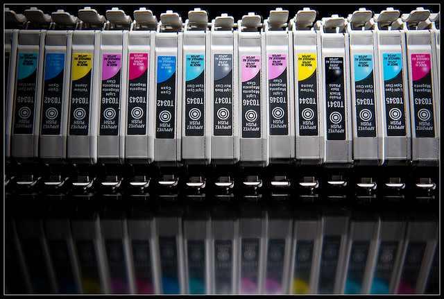 Druckerpatronen- nur sind die nicht von HP. (c) kennymatic, flickr